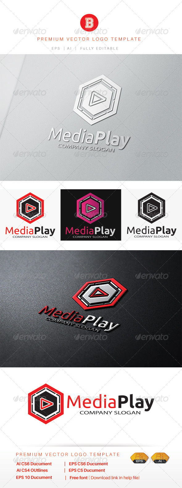 GraphicRiver Media Play 8515347