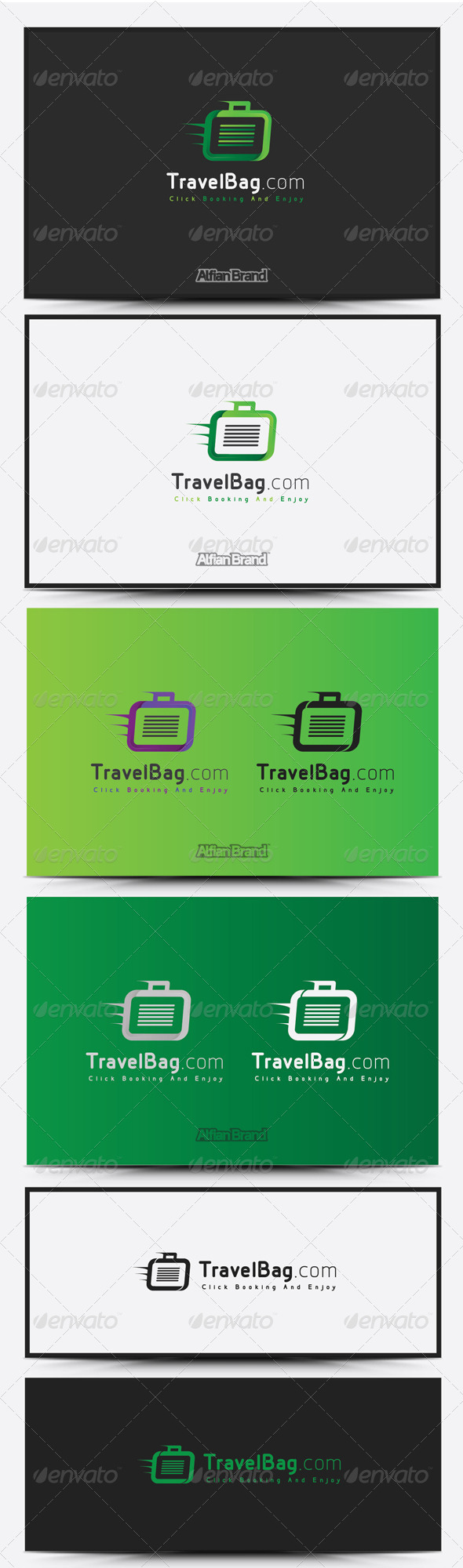 GraphicRiver Travel Bag Logo 8515353