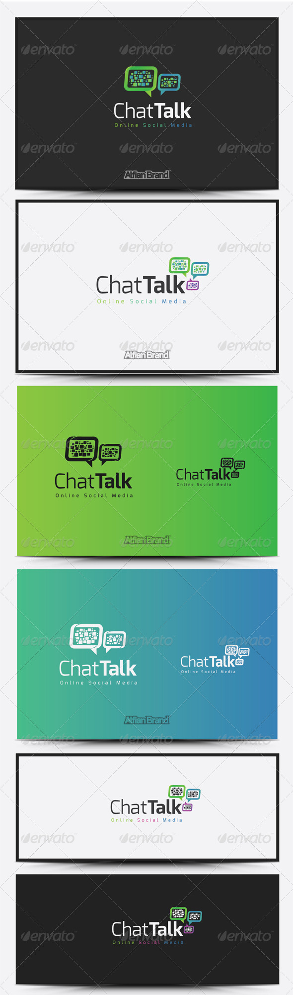 GraphicRiver Chat Talk Logo 8515373