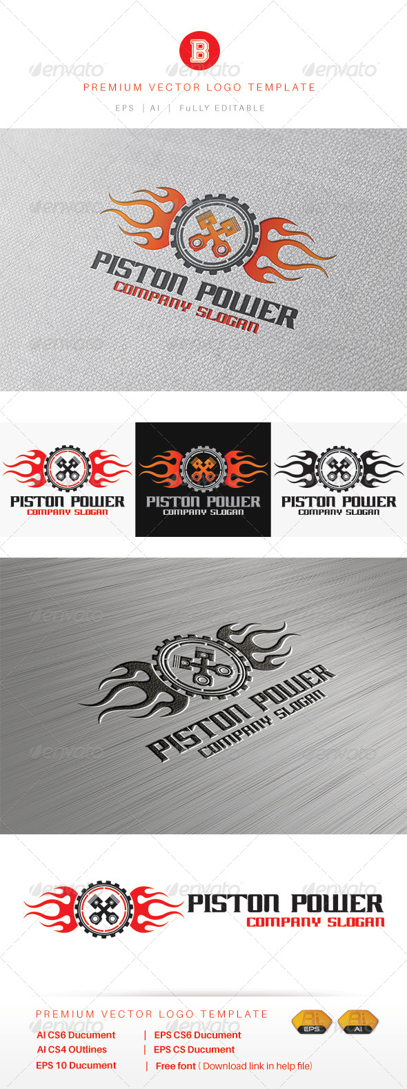 GraphicRiver Piston Power 8515395
