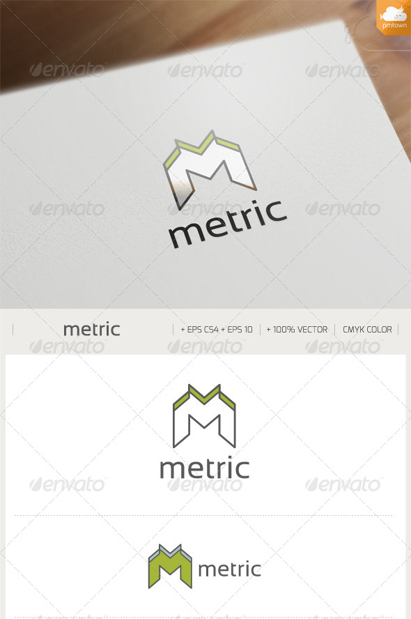 GraphicRiver Metric Logo 8515402
