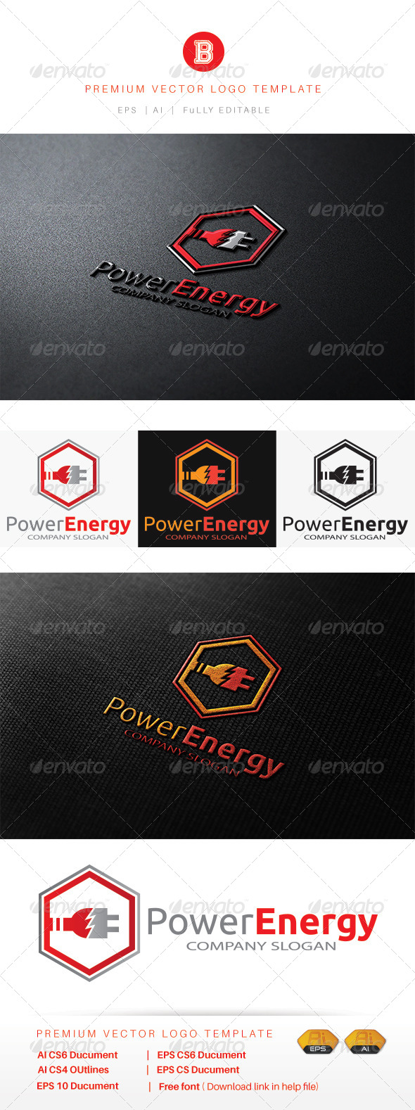 GraphicRiver Power Energy 8515405