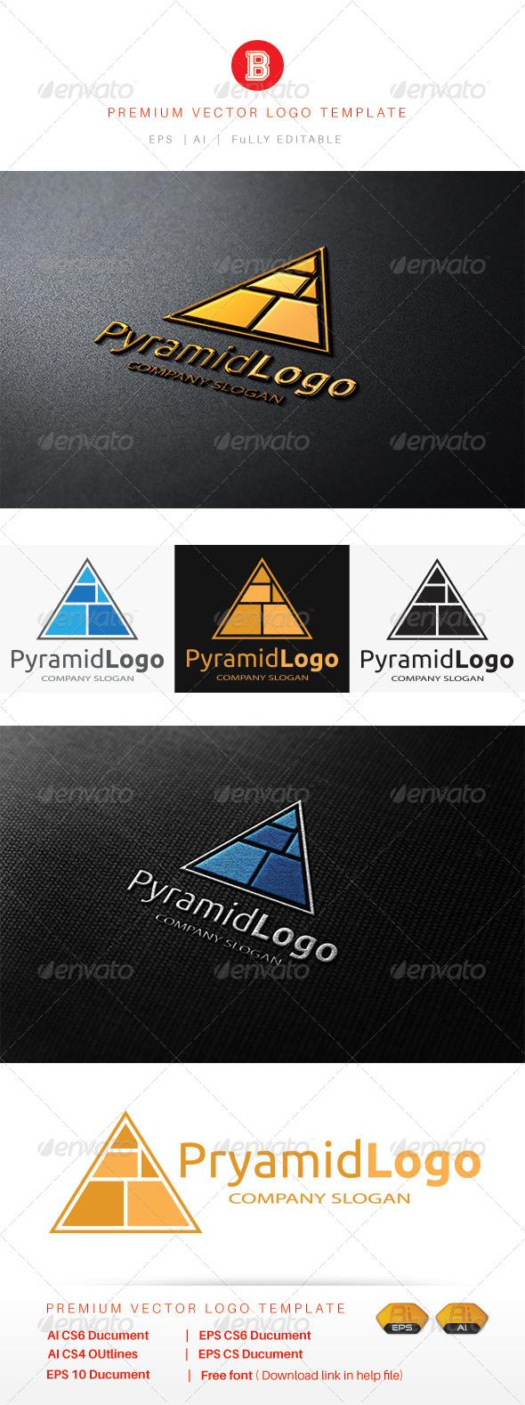 GraphicRiver Pyramid Logo 8515420