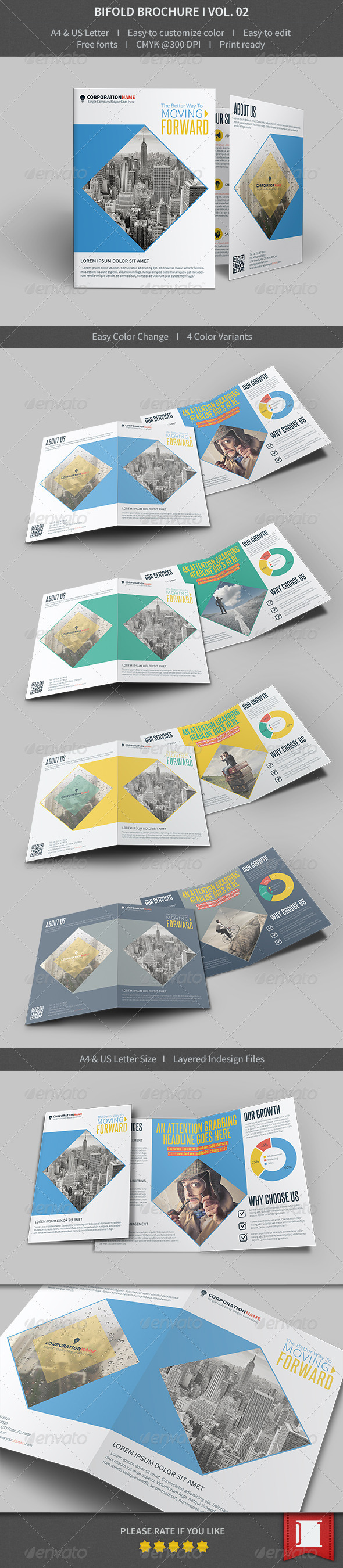 GraphicRiver Bifold Brochure Volume 02 8515440