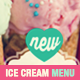 Ice Cream Flavor Menu Template - GraphicRiver Item for Sale