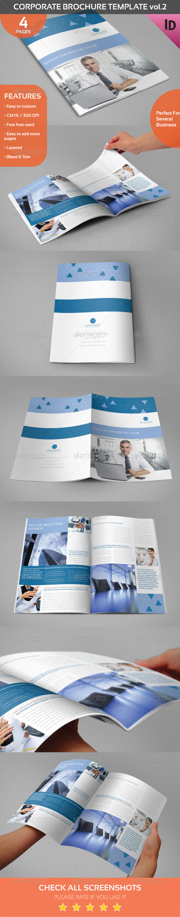 Corporate Brochure Template vol.2