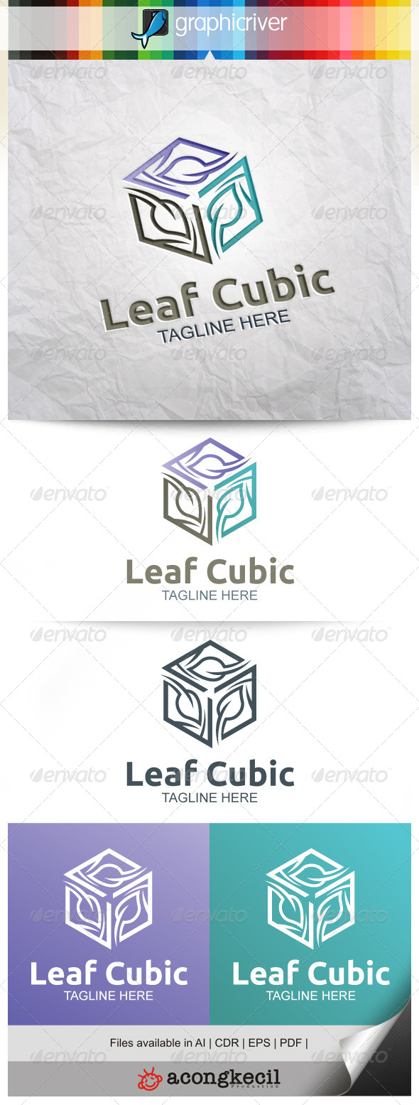 GraphicRiver Leaf Cubic V.4 8515866