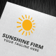 Sunshine Firm Logo Template - GraphicRiver Item for Sale
