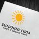 Sunshine Firm Logo Template