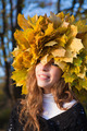 Leaf-crown girl - PhotoDune Item for Sale
