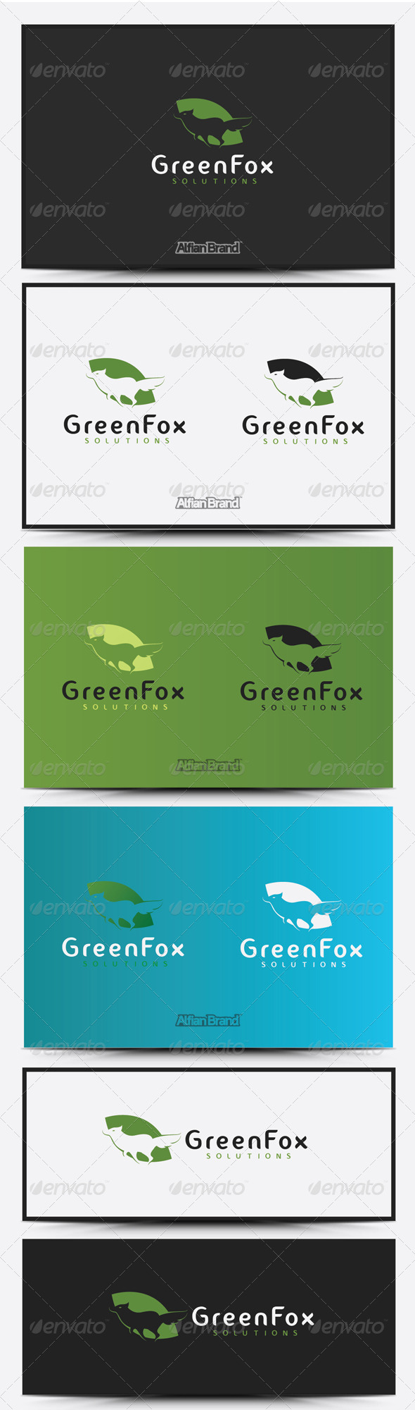 GraphicRiver Fox Logo 8516527