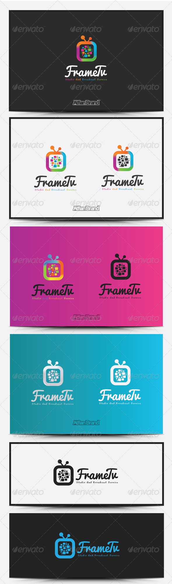 GraphicRiver Frame Tv Logo 8516567