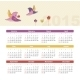 Calendar 2015 Year with Birds - GraphicRiver Item for Sale