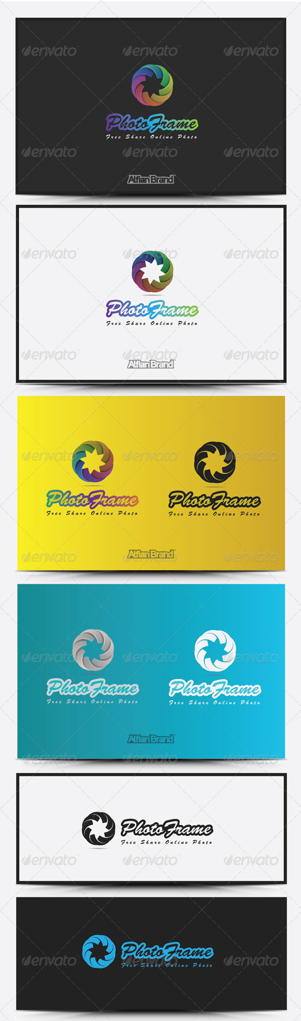 GraphicRiver Photo Frame Logo 8516679