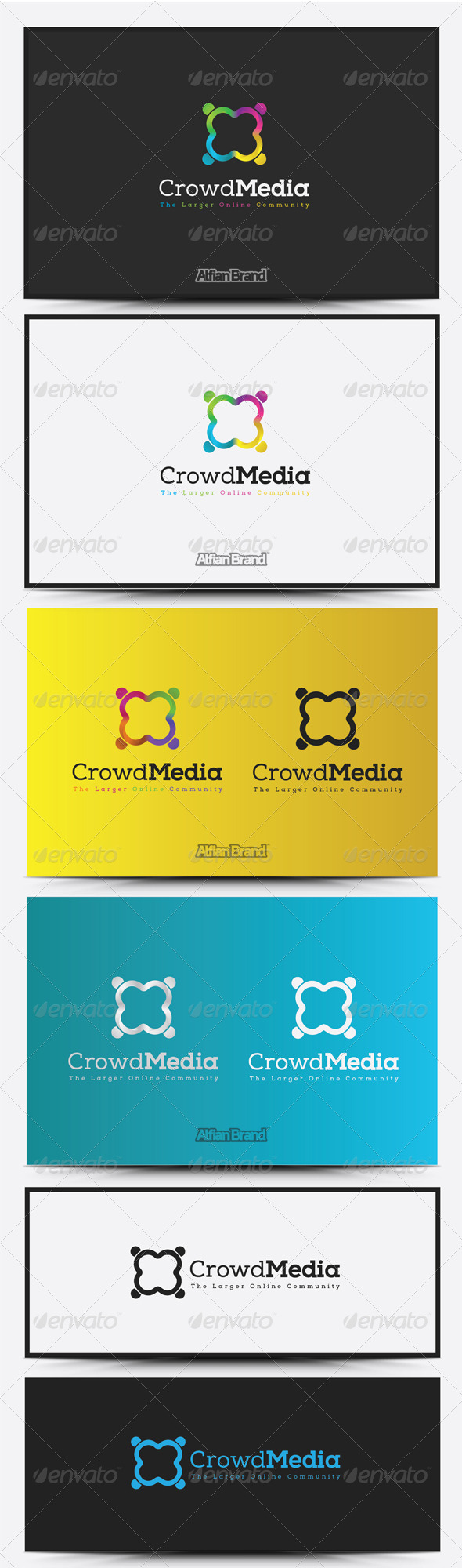 GraphicRiver Crowd Media Logo 8516790