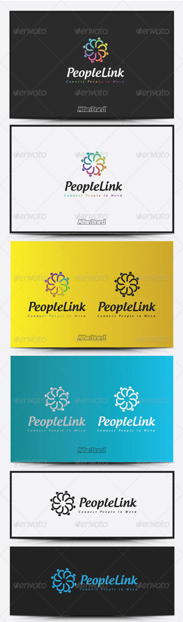 GraphicRiver People Link logo 8516808