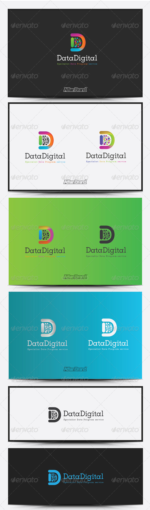 GraphicRiver Data Digital Logo 8516902