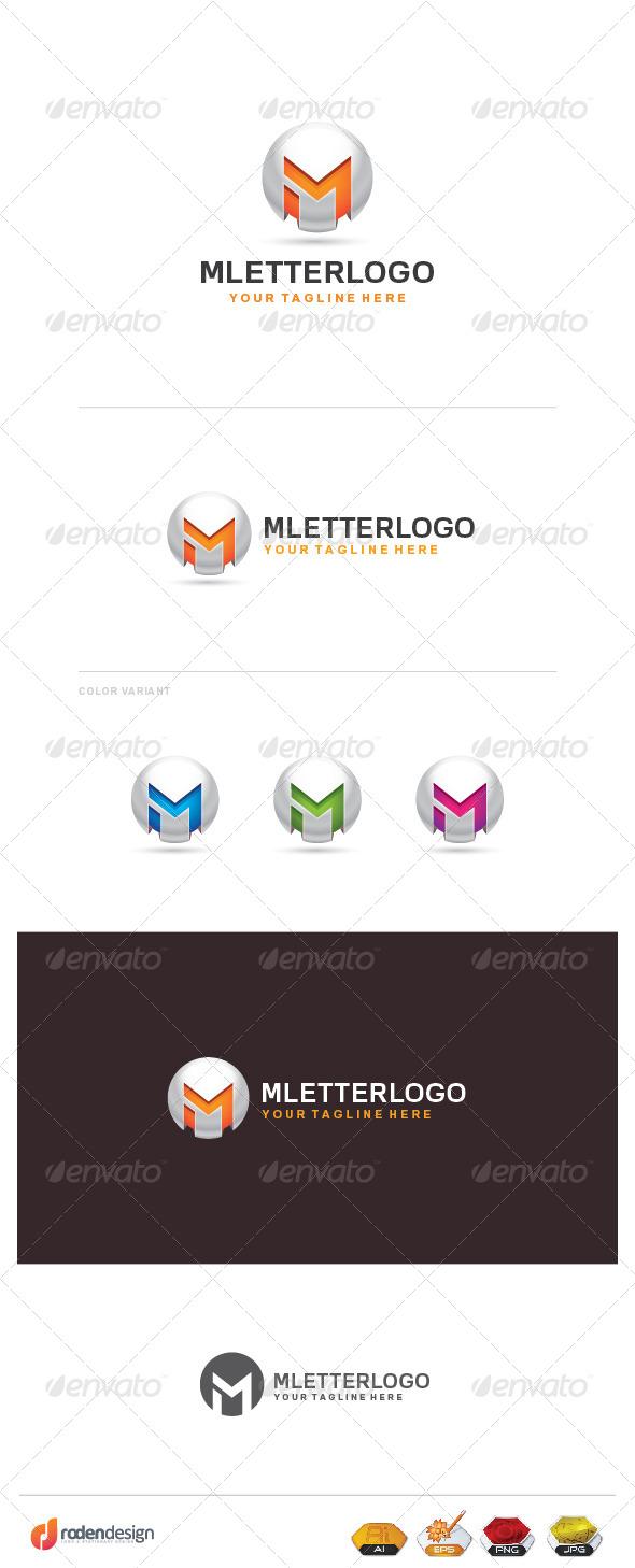 GraphicRiver M Letter Logo 8514998