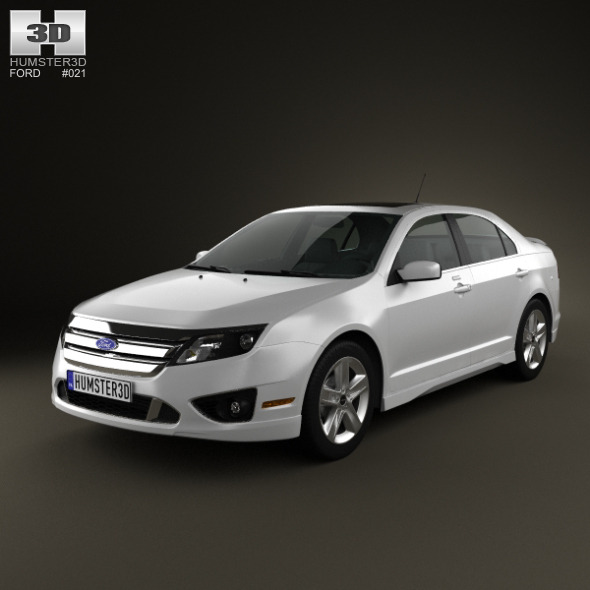 ford fusion sport 2010 by humster3d 3docean. Black Bedroom Furniture Sets. Home Design Ideas