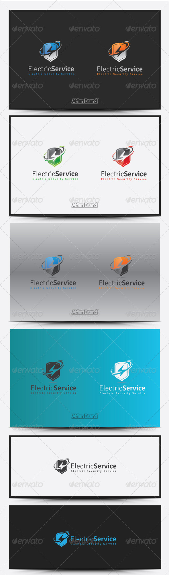 GraphicRiver Electric Service Logo 8516931