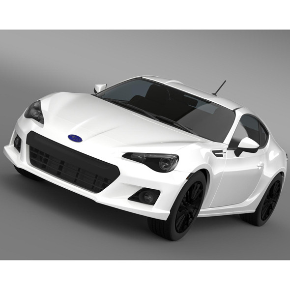 3DOcean Subaru BRZ Premium Sport Package ZC6 2013 8517011