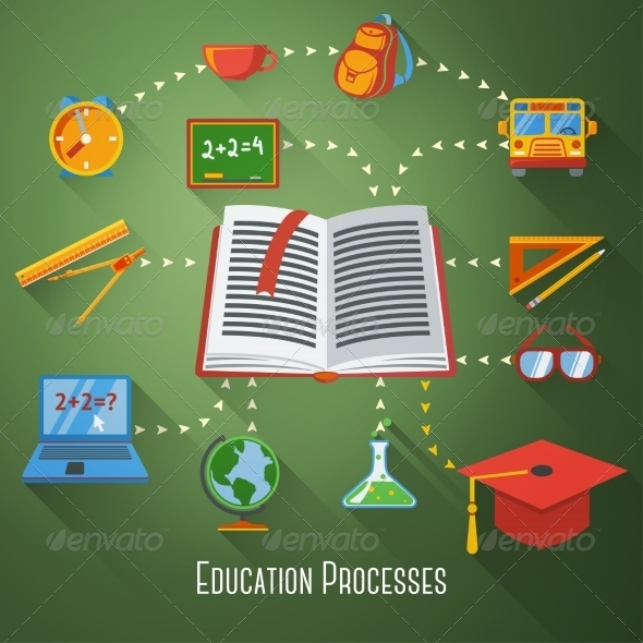 GraphicRiver Education Elements 8517040