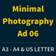 Get Minimal - Photography Ad Template 06 - GraphicRiver Item for Sale