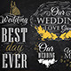 Wedding Lettering Set  - GraphicRiver Item for Sale