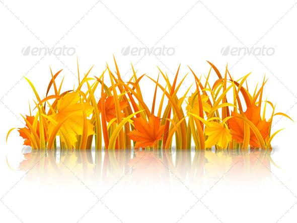 GraphicRiver Autumn Grass 8517584
