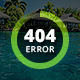 Comming Soon & 404 Error Page - GraphicRiver Item for Sale