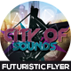 City of Sound Futuristc Flyer Design - GraphicRiver Item for Sale