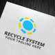 Recycle System Logo Template - GraphicRiver Item for Sale