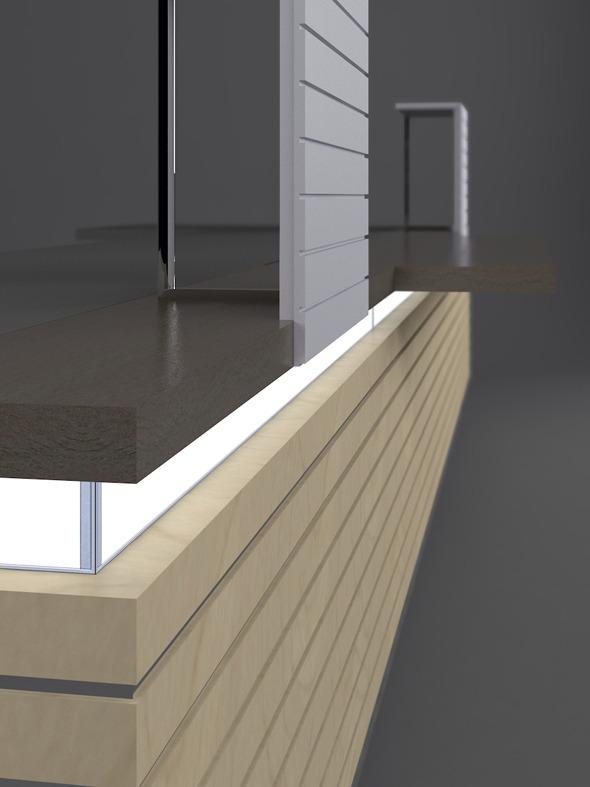 3DOcean Horizon Reception Desk 866402