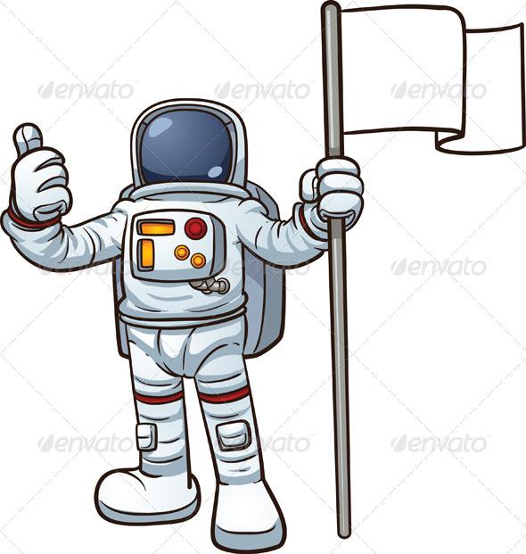 Comic Astronaut Clip Art (page 3) - Pics about space