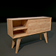 Realistic Modern Display Case Credenza - 3DOcean Item for Sale