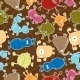 Bacteria Seamless Pattern - GraphicRiver Item for Sale