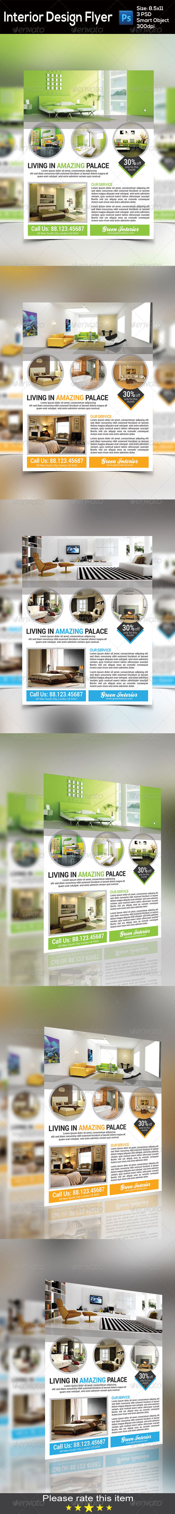 GraphicRiver Interior Flyer 8518441
