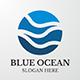 Business & Finance Logo - Blue Ocean - GraphicRiver Item for Sale