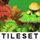 Platform Game Tileset 11 HD: Magic Forest - GraphicRiver Item for Sale