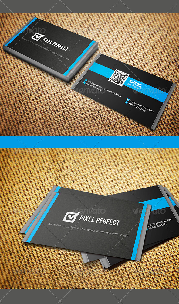GraphicRiver Clean and Minimal Business Card 8518410