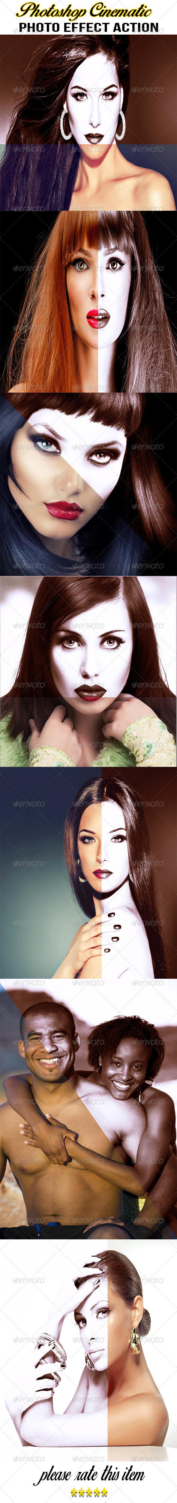 GraphicRiver Photoshop Cinematic Photo Effect Action 8518857