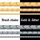 Set of Gold and Silver Chains  - GraphicRiver Item for Sale