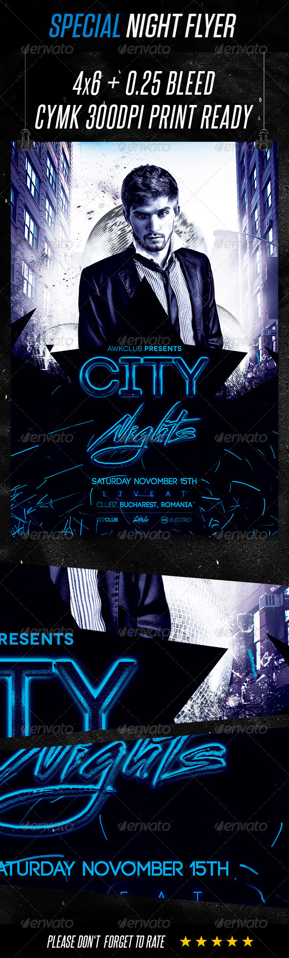 GraphicRiver Special Night Flyer Template 8518965
