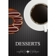 Dessert Menu with Coffee and Donut - GraphicRiver Item for Sale