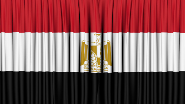 Egypt Curtain Open