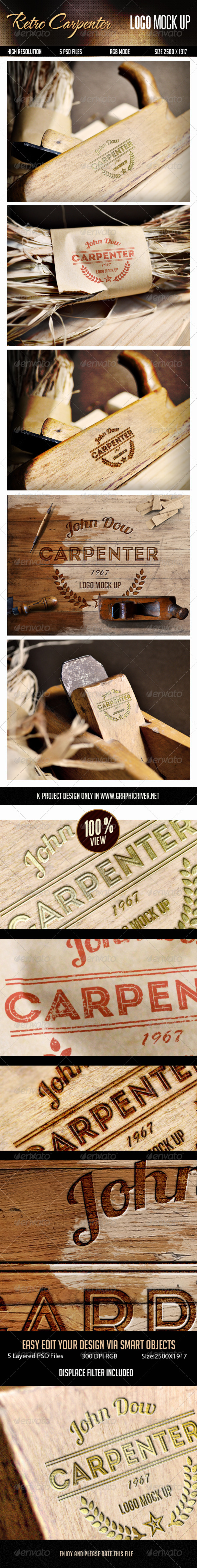 GraphicRiver Logo Mock Up 8518992