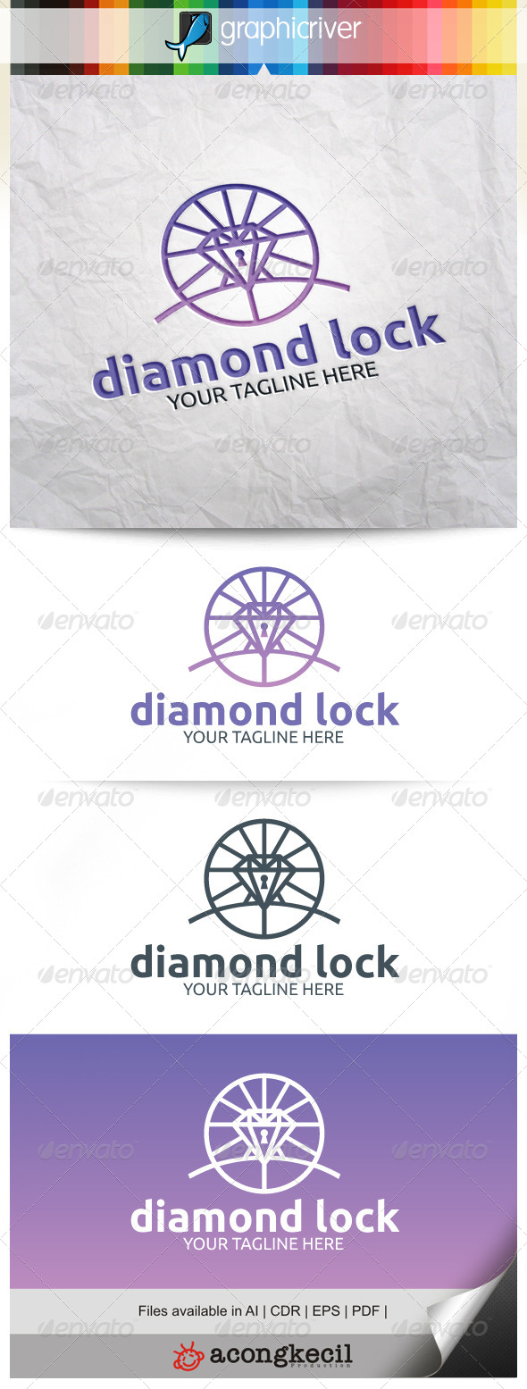 GraphicRiver Diamond Lock V.3 8519467