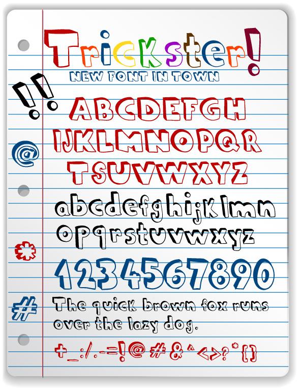 Doodle Font - Comic Decorative
