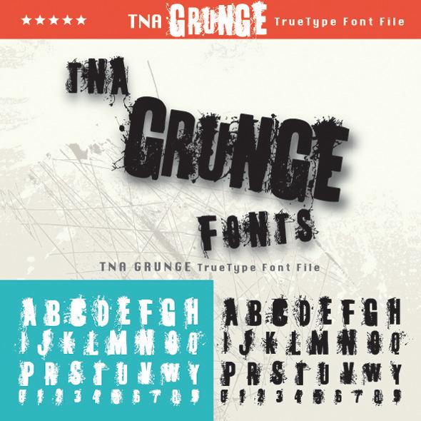 TNA Grunge - Sans-Serif Fonts