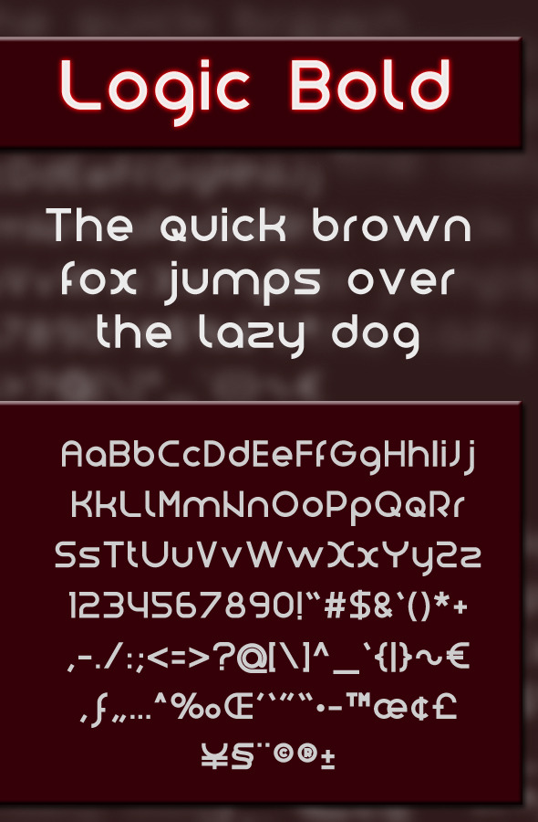 Logic Bold - Sans-Serif Fonts
